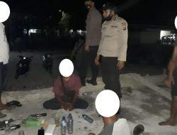 Polisi Bubarkan Pesta Miras di Komleks Pelabuhan Ferry