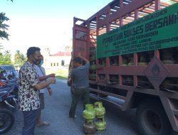 Polisi Sita Gas Tabung Subsidi Masyarakat Miskin di Timbun Seorang Warga