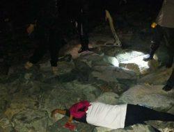 Ditemukan Mayat Perempuan di Bibir Pantai