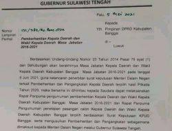 Surat Pemberhentian Bupati, Ketua DPRD Tanggapi, 'Biasa Saja'