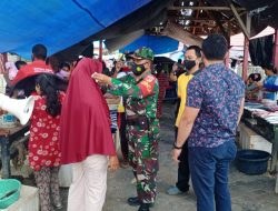 Edukasi PPKM,Satgas Covid-19 Desa: Tepat Desa Kalumbatan Padat Penduduk di Bangkep