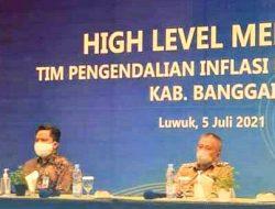 TPID Banggai Komitmen Menjaga Stabilisasi Harga Dimasa Pandemi