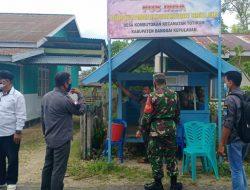 Tim Satgas Desa Aman Covid-19 Perkuat Kesadaran Warga Bahaya Virus
